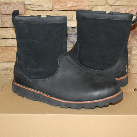 4ee09cb8b66 UGG HENDREN LEATHER WINTER WORK BOOTS Boutique